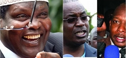 Rabbit out of the hat: Miguna Miguna finally unveils his suprise 24-year-old running mate