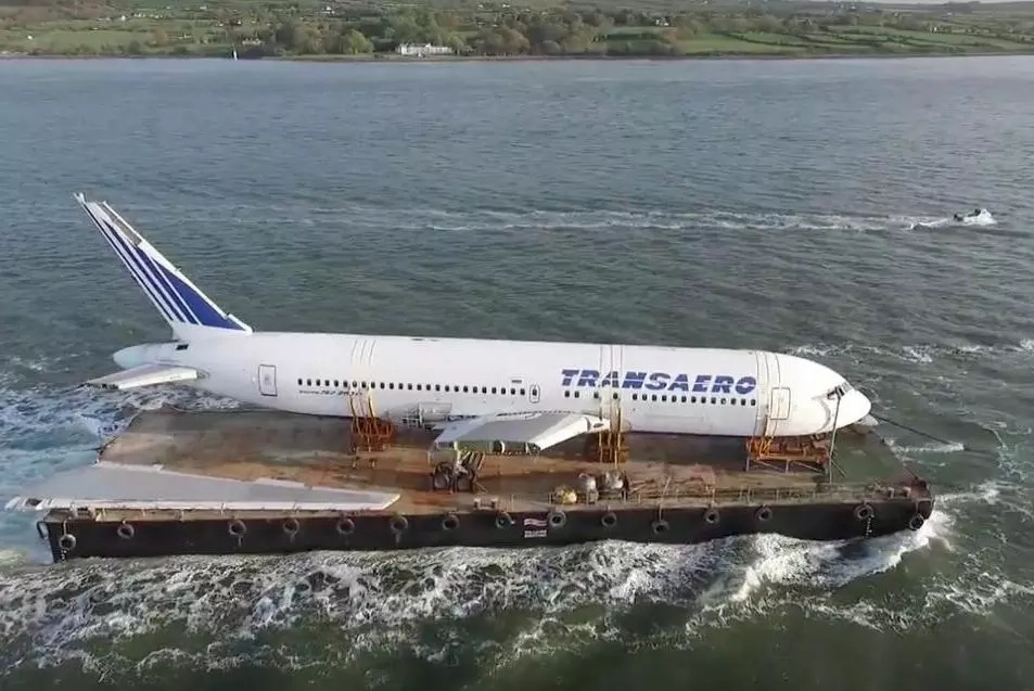 FIND OUT: Boeing plane travelled by sea