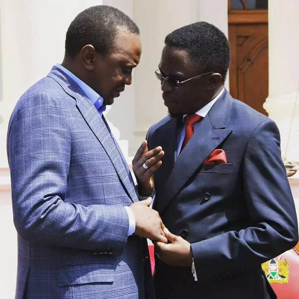 Haya ndiyo yaliyozungumziwa kati ya Uhuru na Trump