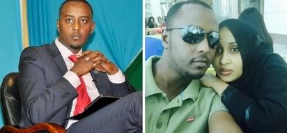 Mtangazaji Hussein Mohamed amejaliwa mke MREMBO ajabu-Picha