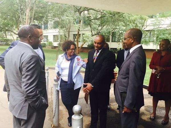 Top city hotel declared cholera free as three cabinet secretaries visit