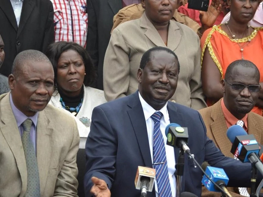 Raila tables details of another 'illegal and deadly' project being undertaken by Uhuru