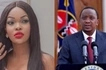 Wema Sepetu congratulates President Uhuru Kenyatta for the early Presidential lead