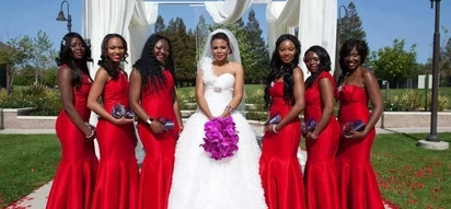 Kenya hottest bridesmaid dresses trends - Be the most beautiful even though it's not your day!