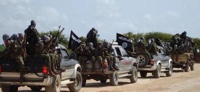 Photo: Al-Shabaab attack Kenyan police station injure cops