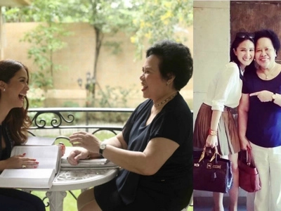 Mahigit isang buwan na pala! Heart Evangelista remembers Miriam Santiago on her death's 40th day
