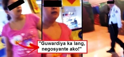 This furious Pinay allegedly cursed and insulted a security guard for not allowing her to enter a closed mall: 'Guwardya ka lang, negosyante ako!'