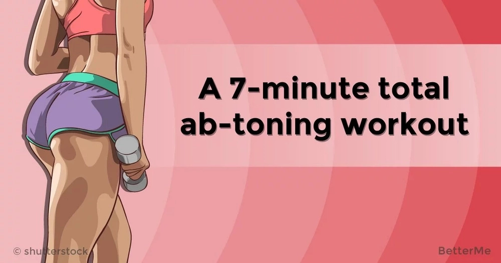 A 7-minute total ab-toning workout