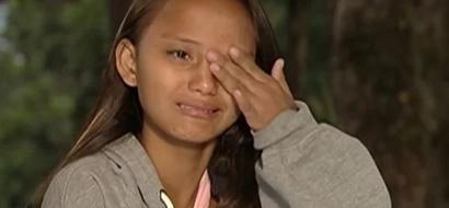 Badjao Girl goes to school