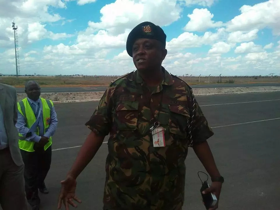 First group of KDF arrives in the country