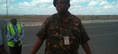 Over 100 KDF soldiers arrive in the country(Photos)