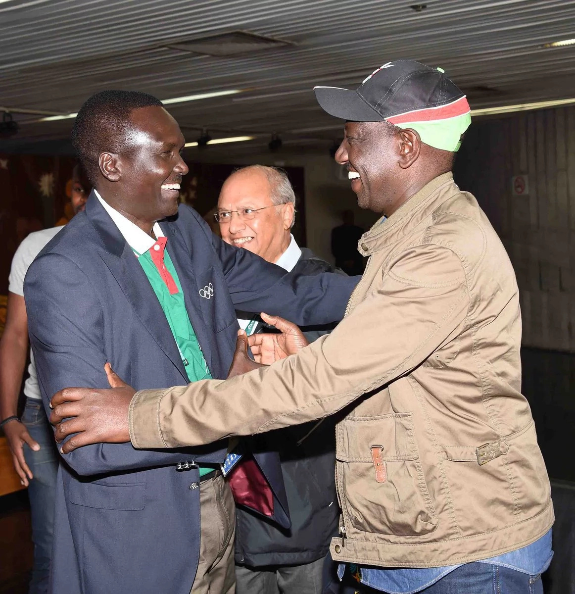 William Ruto arrives in Brazil for the Olympics