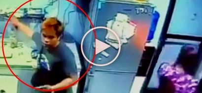 Daring Pinoy thief in Mandaluyong City steals smartphone from distracted store employee