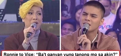 Below the belt na yung tanong! Vice Ganda asks Ronnie Alonte a very sensitive question on GGV which embarrassed the Hashtags member