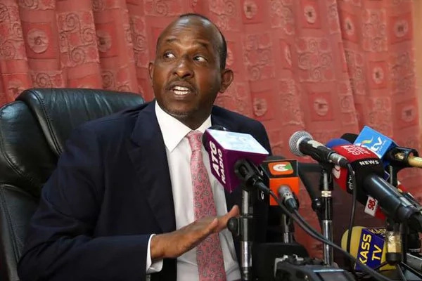 Duale attacks Kalonzo after blaming Ruto over foundation troubles
