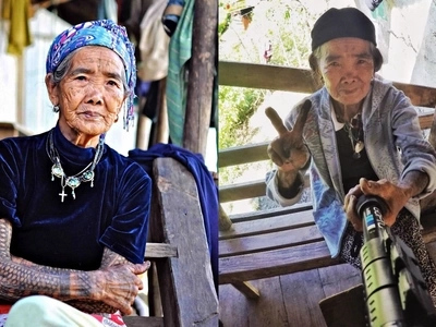 Great news! Oldest living Filipino tattooist Apo Whang-Od is now in good health