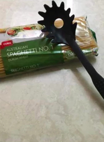 The Reason There's a Hole in Your Spaghetti Spoon is ACTUALLY Genius