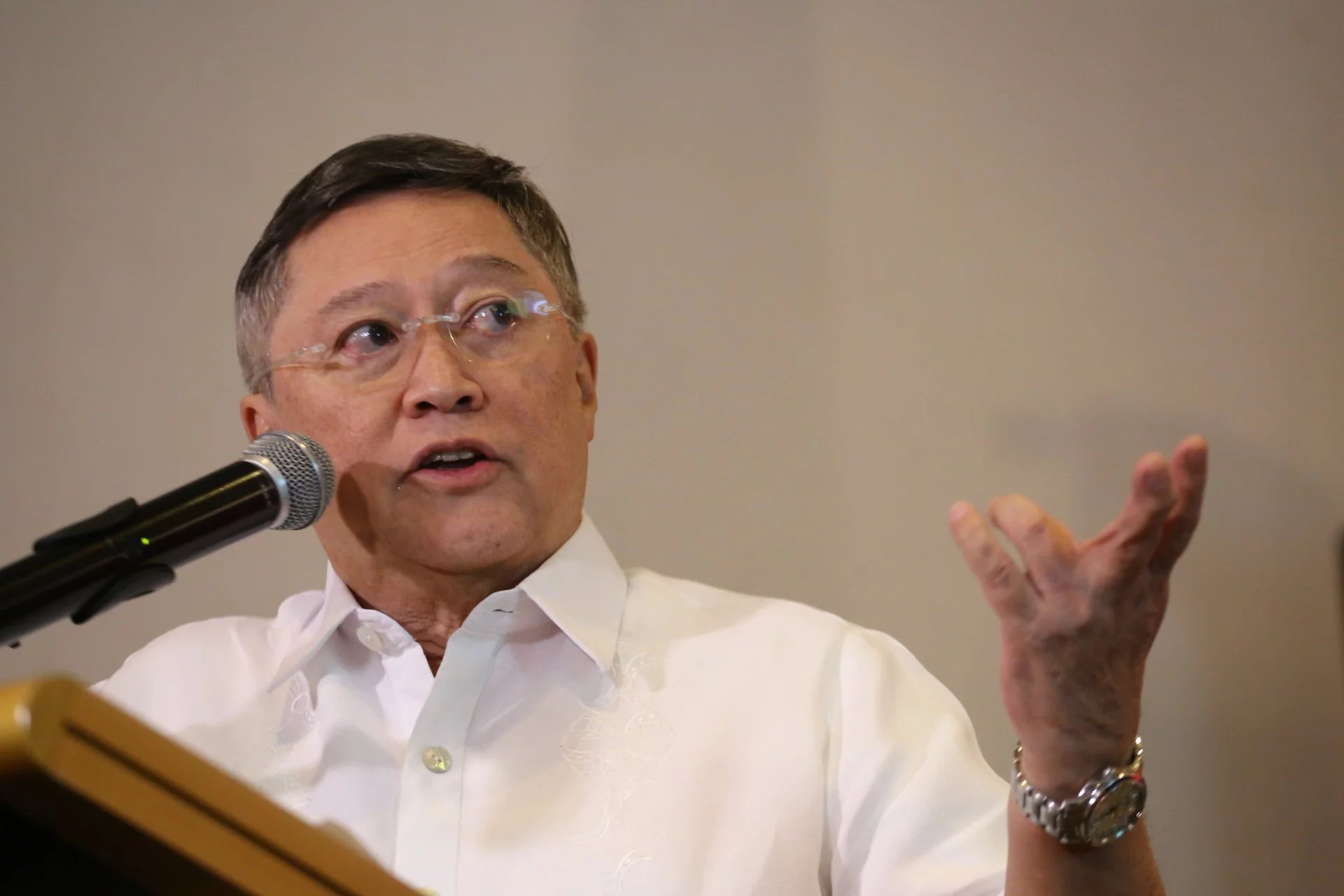Dominguez to BOC officials: Stop corruption