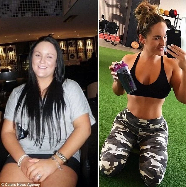 119kg woman sheds HALF her body weight to revenge her bullying ex-boyfriend (photos)