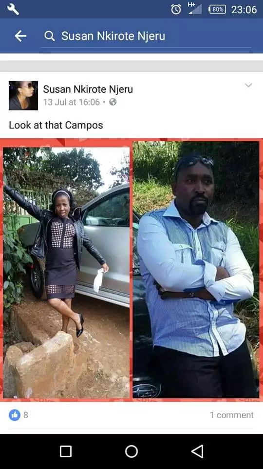 Proof that Kiraitu Murungi's niece can't construct a sentence
