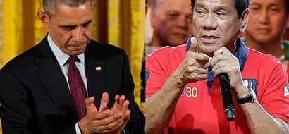 US President Obama congratulates Duterte