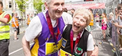 What this octogenarian couple did for their 57th anniversary will inspire and motivate you!