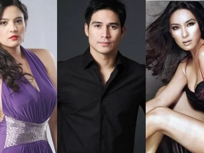 Who looks better on Piolo: Jean or Sunshine?