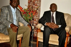 Raila narrates how Ruto controls multi-billion government contracts