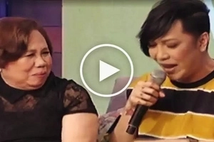 Vice Ganda's loving mother cries during emotional 'Magandang Buhay' interview