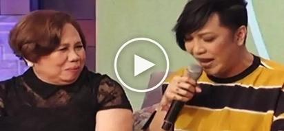 Vice Ganda's loving mother cries during emotional 'Magandang Buhay' interview