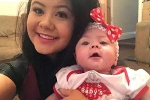 Bebé que nació a los 4 meses superó 2 operaciones y 30 transfusiones de sangre