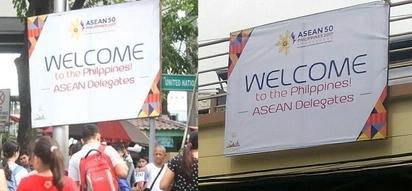 Nakakahiya! Misspelled ASEAN tarps to be investigated