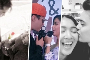 Here is the way these Pinoy celebrity couples spent their Valentine's day!
