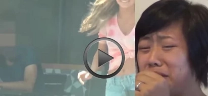 VIDEO: Wife watches her husband of 5 years ditch her for a FLIRTY young girl!