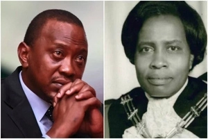 Photos of Uhuru's sister who died at her Lavingtone home