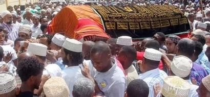 Huzuni Mombasa katika mazishi ya mfanyabiashara mashuhuri (picha)