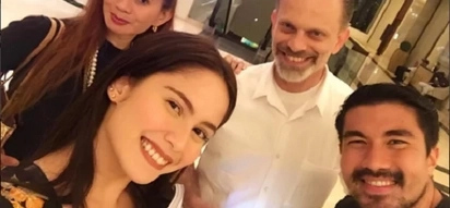 What's the occasion? Jessy Mendiola is all smiles when Luis Manzano bond with her parents