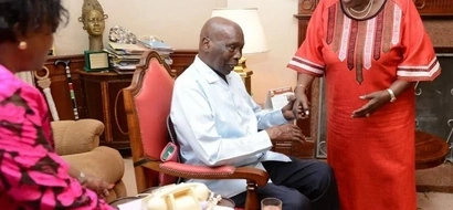 Moi AMWANGUSHA Rais Uhuru siku chache tu baada ya Mama Ngina kutembea Kabarak