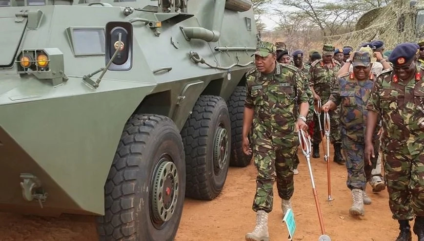 Museveni surprises his soldiers in Somalia