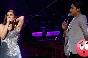 Hala ka! Vina shows off some skin after embarrassing wardrobe malfunction during concert