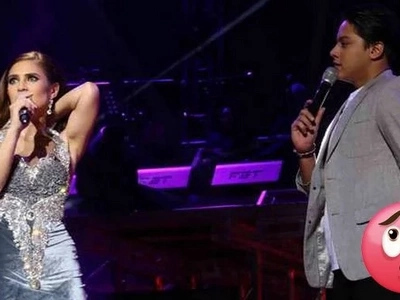 Hala ka! Vina shows off some skin after embarrassing wardrobe malfunction during concert