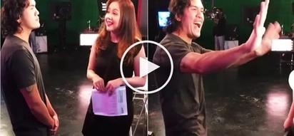 Wacky Baste Duterte sends hilarious message to President Digong: 'Artista na ako!'