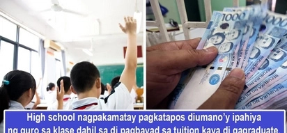 Nagpakamatay dahil walang pang-tuition! Family blames teacher shaming student in class for non-payment of tuition, allegedly causing him to take life