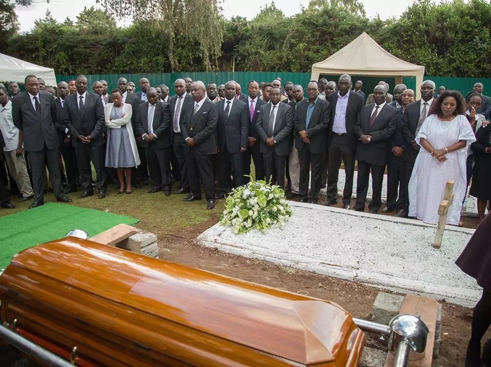 Captivating photos from Nicholas Biwott's final resting place
