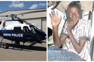 """9-year-old boy sparks police HELICOPTER search found hiding """"under his bed"""""""