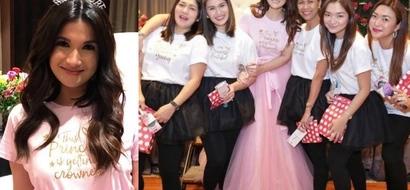 Munting prinsesa no more! Take a look at Camille Prat's 'Princess Sarah' themed bridal shower