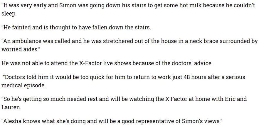 Simon Cowell rushed to hospital after being stretchered out of house