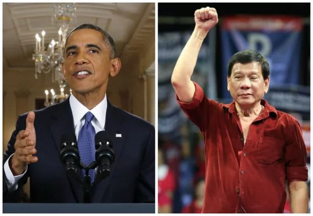 US President Obama congratulates Duterte