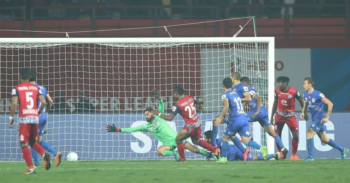 Mumbai FC Loses to Jamshedpur FC at Home to Become Number 4 in the Indian Super League