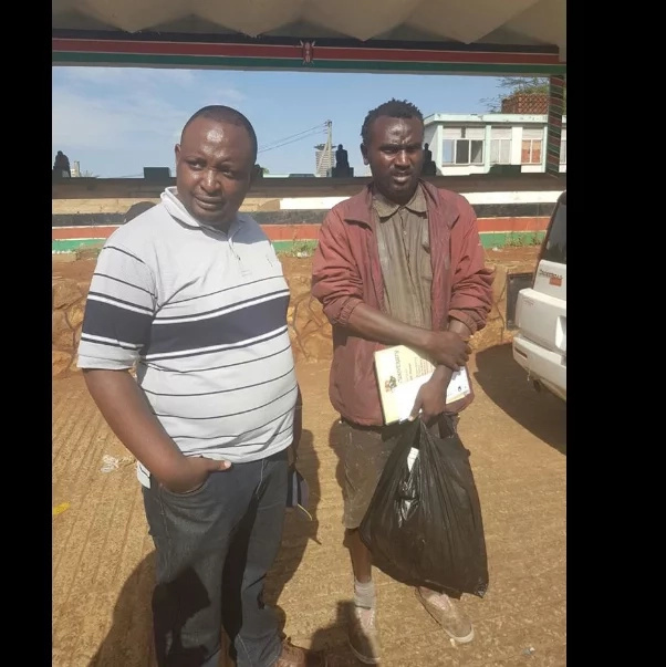 Miracles start pouring in for jobless graduate who lives in the streets of Kenya as a beggar